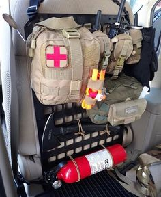 """Our x Heavy Duty Panel loaded up with some gear in a customer's . """"I wish I had discovered this product sooner. This is the ideal way to organize your gear. Truck Mods, 4x4 Trucks, Nissan Trucks, Cool Trucks, Tactical Truck, Tactical Gear, Tactical Seat Covers, Molle Backpack, Truck Bed Camper"""