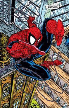 Vintage McFarlane Spider-Man from ASM #317