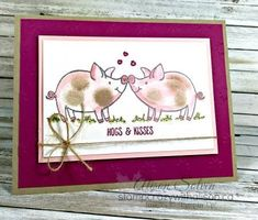 This little piggy- Stampin' Up!