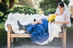 A Yellow & Navy Military Wedding at Camarillo Ranch | Fab You Bliss