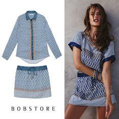 Compre moda com conteúdo, www.oqvestir.com.br #Fashion #Bobstore #Print #Pretty #Summer14
