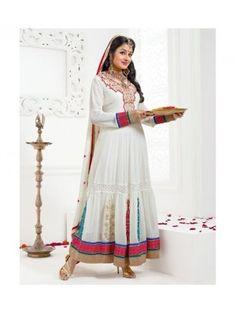 Designer Wear Anarkali Salwar Kameez Jodha Akbar on skbmart.com