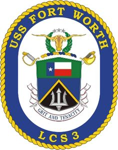 USS Forth Worth LCS-3 Crest