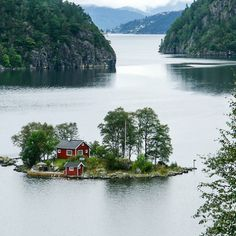 Lovrafjorden Norway