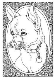 Image result for dog colouring pages for adults