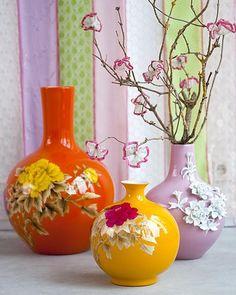 vaas met bloemen (Pols Potten)