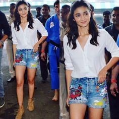 Let's try to look different As Alia Bhatt..!!