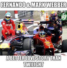 Gp F1, Mark Webber, Best Love Stories, Funny Comments, Alonso, Car Humor, Formula One, Motogp, Fast Cars