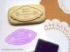 "La ventana de mi desván: Sello ""Hand Made in Ibiza"""