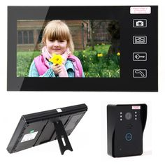 "Home Security LCD 2.4G Wireless Video Door Phone Intercom Doorbell Camera with 7""LCD Monitor Access Control -- Awesome products selected by Anna Churchill"