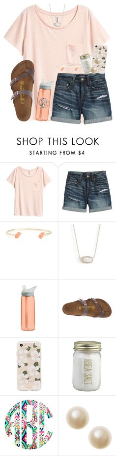 """""""🌸 qotd 🌸"""" by nicolehumphrey ❤ liked on Polyvore featuring Canvas by Lands' End, Kendra Scott, CamelBak, Birkenstock, Sonix, Crate and Barrel and rustic"""