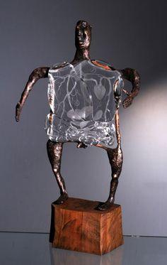 Необычные работы чешского мастера Dalibor Nesnidal: удивительное сочетание стекла и бронзы - Ярмарка Мастеров - ручная работа, handmade