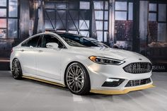 Nice Ford: 2017 Ford Fusion Sport Ballistic by Webasto Thermo & Comfort North America. Ford Fusion Custom, 2013 Ford Fusion, Fusion Sport, Ford Taurus Sho, Car Buying Guide, 2015 Ford Mustang, Ford Lincoln Mercury, High Performance Cars, Ford Shelby