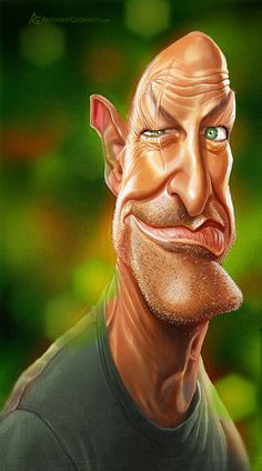 CARICATURES part/1 by Anthony Geoffroy, via Behance