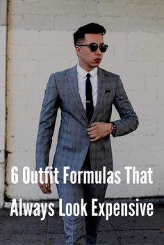 outfit formulas for men. #mens #fashion #style