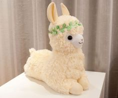 20 inches 50cm Arpakasso Alpacasso Alpaca Plush Toy Lovely Girl Bright yellow