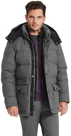 Vince Camuto Hooded Down Puffer Coat