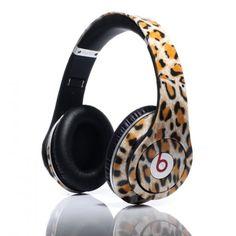 Dr Dre Beats Monster Studio Tiger Over-Ear Headphones