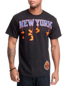 New York Knicks Corner Tee