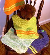 Ravelry: Garter Stitch Baby Bib pattern by Holly D. Hufstetler