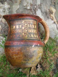 Poterie Kabyle Ideqqi Berbere Début Xxeme | eBay Ceramic Teapots, Ceramic Bowls, Ceramic Pottery, North Africa, Folk Art, Tea Pots, Cups, Culture, Ceramics