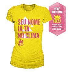 Camiseta Feminina Ivete Sangalo - Você Já Tá No Clima