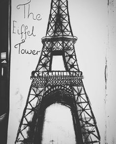 My Drawing Of The Eiffel Tower
