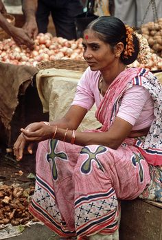India - Goa: mercato, topinanbur | Scansione da diapositive;… | Flickr