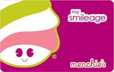 Balance - Menchies My Smileage Rewards Program   Processed by ...