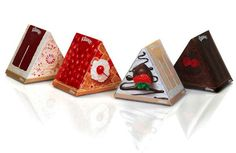 The Kleenex Dessert Boxes Look Sickeningly Sweet #chocolate #packaging trendhunter.com