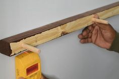 Make Your Own Floating Shelves With This Simple Technique : 8 Steps (with Pictures) - Instructables How To Make Floating Shelves, Make Your Own, Make It Yourself, Diy Hanging, Wood Shelves, Carpentry, Wood Projects, Simple, Pictures