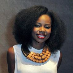 Hair inspiration taken from FB dedicated to naturals.