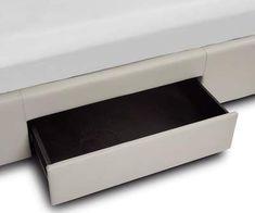 Lukko Storage Bed - Scandinavian Designs Built In Storage, Bed Storage, Bed Designs With Storage, Long Shelf, Storage Cabinets, Scandinavian Design, Floating Nightstand, Drawers, Bedroom