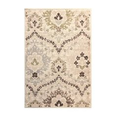 Found it at Wayfair - Castleford Ivory/Green Area Rug