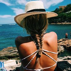 fishtail braid for summer ☼ Summer Vibes, Summer 3, Summer Of Love, Hello Summer, Style Summer, Spring Break, Bikinis, Swimwear, Swimsuits