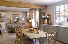 Carol Glasser's home via Cote de Texas blog