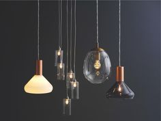 Habitat MARLOWE Smoked glass and copper ceiling light (right), £45 down from £60