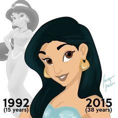 Como se verian las princesas de Disney viejas? - Taringa!