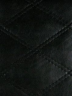 B. Berger Quilted Leather - 7186 - MIDNIGHT $40.25 per yard