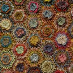 Sophie Digard crochet Scarf, Caroline