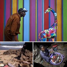 แปลงขยะเป็นศิลปะและของเล่น ชายหาดสะอาด+ชาวบ้านมีรายได้