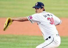 [포토] 노경은, 589일만의 선발 등판! - 한국스포츠경제
