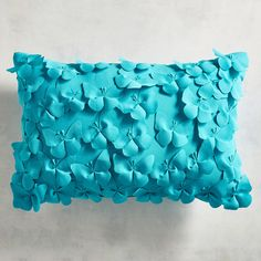 Pier 1 Imports Butterfly Petals Lumbar Pillow (81 PEN) ❤ liked on Polyvore featuring home, home decor, throw pillows, turquoise, pier 1 imports, outdoor home decor, turquoise accent pillows, outside home decor and flower throw pillow