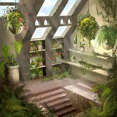 Atrium by ~PatrickMcEvoy