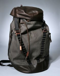 King does need a new backpack with an edgy look to it. Perfect for his every day moves.