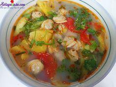 Cách làm canh ngao nấu dứa ngon ngất ngây-sotaynauan.com