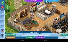 Virtual Families 2 Cheats, Minecraft Designs, Mansions, House Styles, Home, Decor, Ideas, Games, Decoration