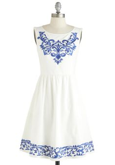 Seaside Serenade Dress, They have the greatest and the most beautiful dresses. Vestidos Vintage Retro, Retro Vintage Dresses, Pretty Outfits, Pretty Dresses, Cute Outfits, Mod Dress, Dress Up, High Waisted Bikini Bottoms, It Goes On
