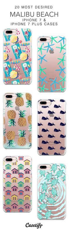 20 Most Desired Malibu Beach Protective iPhone 7 Cases and iPhone 7 Plus Cases. More California iPhone case here > https://www.casetify.com/collections/top_100_designs#/?vc=yhOfZ9OHGn #iphone8pluscase,