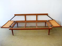 couch without cusions...daybed via etsy.